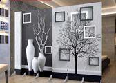 屏風隔斷客廳歐式簡易行動摺疊玄關辦公雙面布藝簡約現代臥室摺屏ATF 蘑菇街小屋