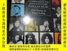 二手書博民逛書店【英文原版】THE罕見FABER COMPANION TO 20TH-CENTURY POPULAR MUSIC