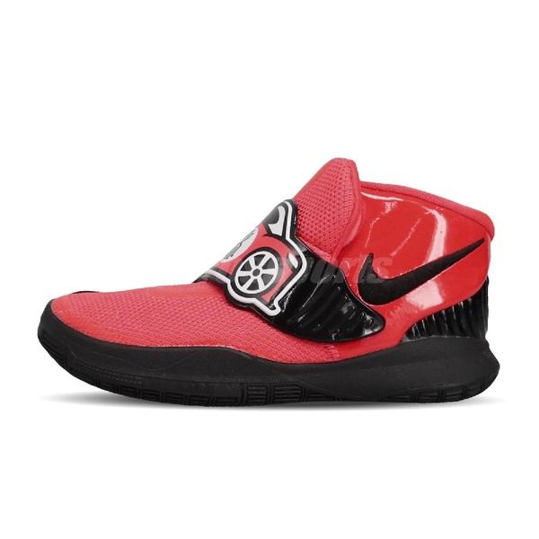 Nike 籃球鞋 Kyrie 6 Auto TDV 紅 黑 童鞋 小童鞋 小朋友 運動鞋 厄文 【ACS】 CK0616-600