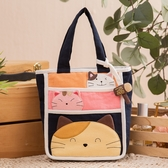 Kiro貓 福氣貓 多格層 小物收納/輕巧外出包/手提包【220816】
