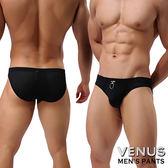 情趣睡衣VENUS 透氣網孔 男士內褲性感三角褲 黑