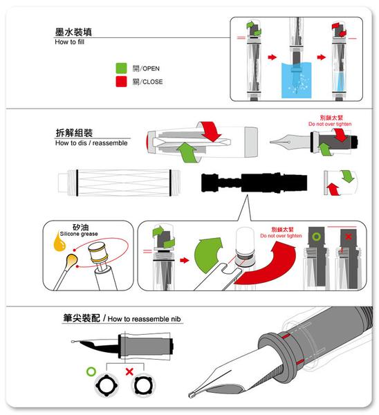 三文堂TWSBI-鋼筆-Mini AL 陽極薄荷藍