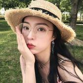 超仙蝴蝶流蘇耳環女氣質韓國個性百搭長款耳夾冷淡風顯臉瘦的耳墜  可然精品
