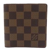 LOUIS VUITTON LV 路易威登 棋盤格二折短夾 N61666 【二手名牌BRAND OFF】