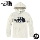 【The North Face 男 LOGO 連帽T恤 HOD《白》】4NEQ/連帽上衣/休閒長袖