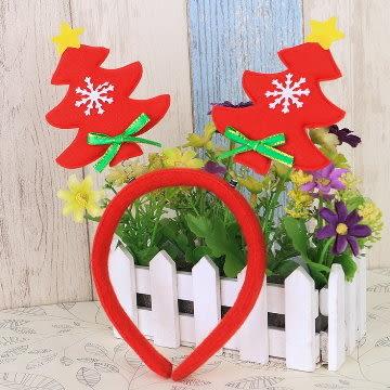 聖誕髮箍 可愛聖誕樹造型髮箍 【易奇寶】