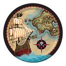 9吋圓盤8入-海盜寶藏