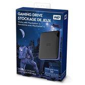 """[哈GAME族]可刷卡●最佳戰友●WD 2TB Gaming Drive (for PS4) 2.5""""外接硬碟 WDBDFF0020BBK-WESN"""