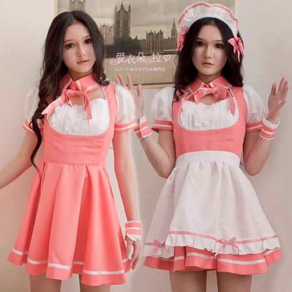 女僕裝7件組 高質感COSPLAY角色扮演服飾 超萌系蘿莉洋裝- 愛衣朵拉