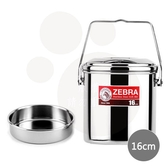 【ZEBRA】斑馬新型SUS304不鏽鋼提鍋16cm/3.0L