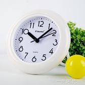 吉邦歐式浴室鐘防霧防水靜音壁掛時鐘廚房創意衛生間時鐘石英鐘錶WD 一米陽光