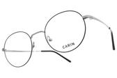 CARIN 光學眼鏡 MILLER C2 (霧黑-霧槍) 韓星秀智代言 經典圓框造型款 # 金橘眼鏡