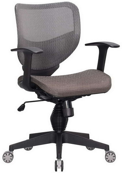 HP362-08 全網椅TS-080/灰網/氣壓+後仰