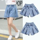 女童短褲女童牛仔褲裙夏裝女孩短褲兒童夏季裙褲外穿百搭薄款洋氣 寶貝計畫