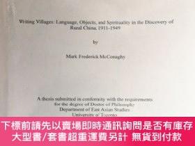 二手書博民逛書店Writing罕見Villages: Language, Objects, and Spirituality in