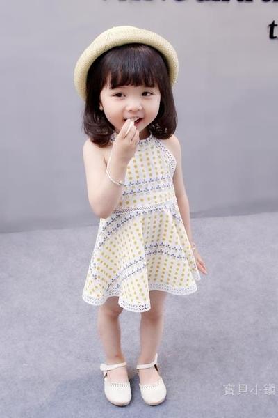 女童洋裝 女童連身裙0公主1寶寶夏裝2兒童裝3小孩女孩4歲寶貝吊帶裙子5小童