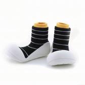 韓國 Attipas 快樂腳襪型學步鞋-香蕉牛奶