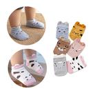 兒童短襪 卡通立體動物船襪-JoyBaby