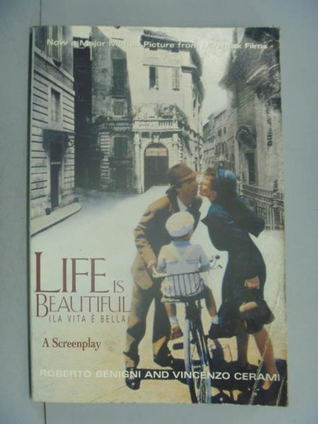 【書寶二手書T9/勵志_QIS】Life is Beautiful_Roberto Benigni and Vincen