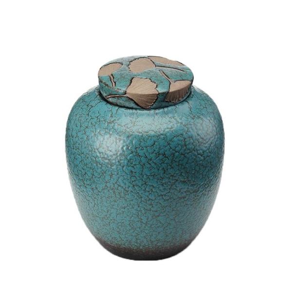 昱器陶瓷粗陶茶葉罐密封罐大號儲存散茶一斤紅茶普洱