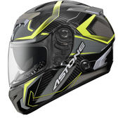 【東門城】ASTONE GTR N55 (碳纖/螢光黃) 全罩式安全帽 雙鏡片