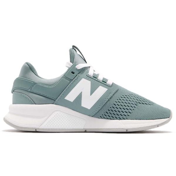 New Balance 慢跑鞋 NB 247 綠 白 二代 舒適緩震 運動鞋 女鞋【ACS】 WS247UFB