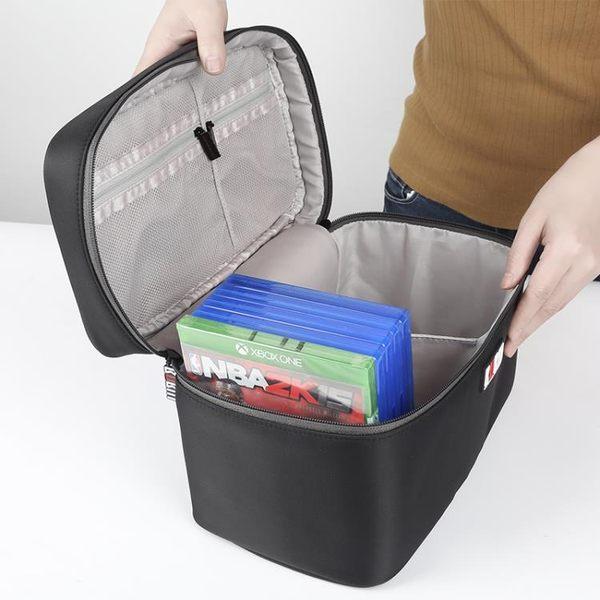 BUBMPS4cd包ps4游戲光盤包xbox光碟收納包大容納收納盒家用 可可鞋櫃