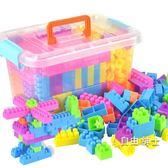 積木兒童大顆粒拼裝髮插塑料雪花積木片益智男女孩3-6周歲寶寶1-2玩具