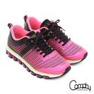 Comphy 3D霸氣囊 透氣網布奈米健走運動鞋  粉紅