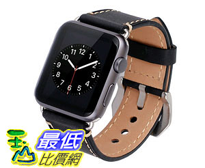 [105美國直購] 蘋果錶帶 Apple Watch Band 42mm iWatch Strap, Premium Crazy Horse Genuine Leather Watchband B0176EBR9U