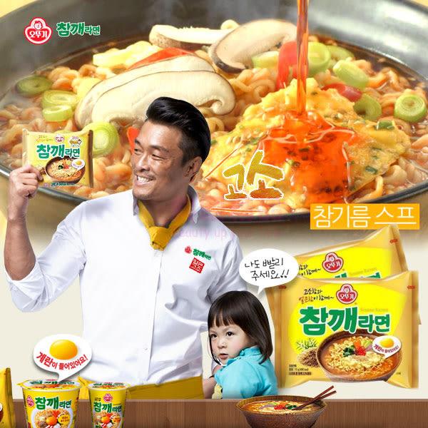 韓國 不倒翁 OTTOGI 芝麻風味拉麵 5入/袋【特價】★beauty pie★