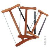 傳統老式木工鋸仿紅木鋸架手工鋸鋼絲鋸子截鋸順鋸伐木鋸園林鋸框