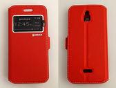 gamax InFocus M2 3G/M2 4G/M2 4G/M2+ 側翻式手機套 視窗商務系列 4色可選 可加購保護貼更超值