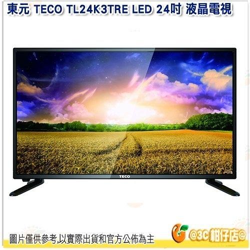 不含視訊盒 只配送 不含安裝 東元 TECO TL24K3TRE LED 24吋 液晶電視 液晶顯示 低藍光