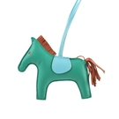 【HERMES】Rodeo MM Charm 吊飾(綠色/棕色/淺藍色) HE99000066