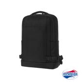 AT美國旅行者 Milton極簡實用筆電後背包14吋(黑)
