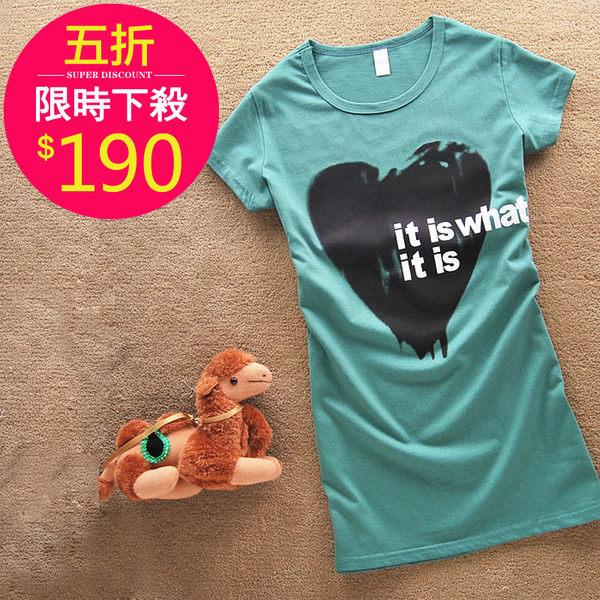 T恤【492】FEELNET中大尺碼女裝夏裝百搭卡通短袖上衣40~42碼