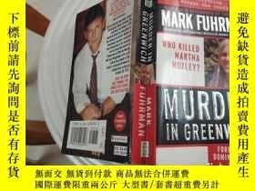二手書博民逛書店MURDER罕見IN GREENWICH(外文原版)Y9128