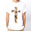 Cross Cat短袖T恤-白色 十字架...