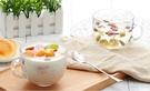 透明玻璃杯子家用大號燕麥碗酸奶早餐杯