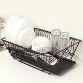 大號水池廚房晾碗架瀝水架家用單層碗碟架滴水置碗架控水碗筷雙層【小梨雜貨鋪】