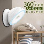 小夜燈充電池led家用光控聲控檯燈臥室床頭節能樓道喂奶人體感應 igo陽光好物