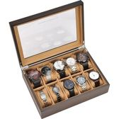 手錶盒收納盒木制首飾手串收集整理展示木盒簡約錶箱手錶收藏