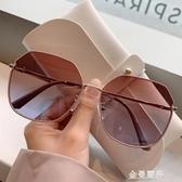 太陽鏡女年新款圓臉韓版潮偏光防紫外線墨鏡大臉顯瘦眼鏡 極簡雜貨