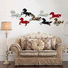 立體樹脂馬壁飾掛飾
