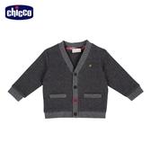 chicco 皇家俱樂部山形紋V 領外套
