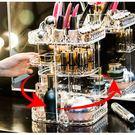 方形款旋轉壓克力收納盒 化妝品收納 透明...