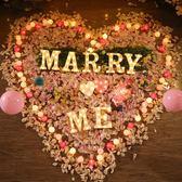 情人節浪漫英文字母燈LED驚喜裝飾錶白生日求婚布置創意用品道具【六月熱賣好康低價購】