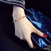 水晶手?女正韓簡約學生森系閨蜜首飾個性手環百搭手飾手鐲