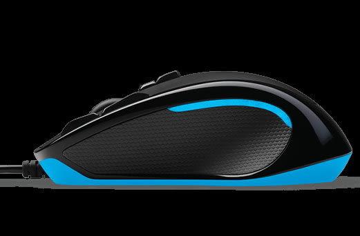 羅技 G300s 玩家級光學滑鼠 功能與操控性的完美配合